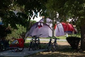 Emplacements pour tente