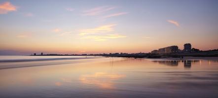 Couchée de soleil en Vendée