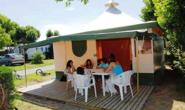 Location bungalow toilé 5 personnes