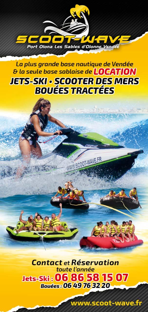 Louez un jet-ski aux Sables d'Olonne